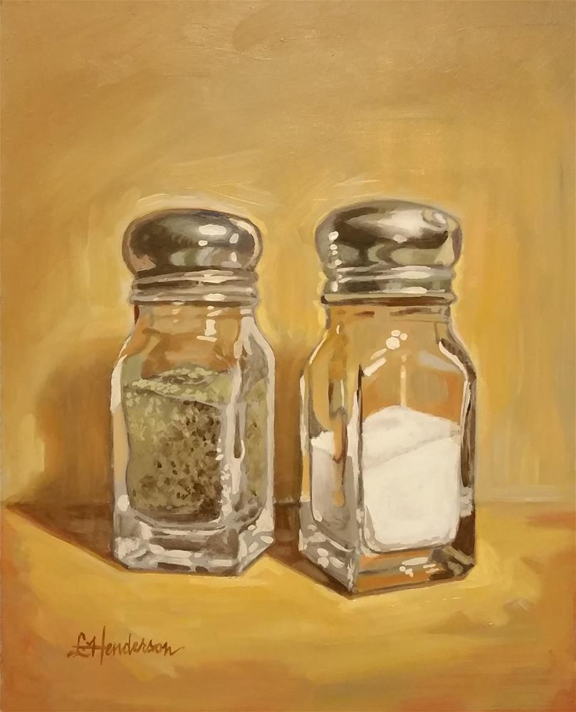 """Salt and Pepper"" original fine art by Lael Henderson"