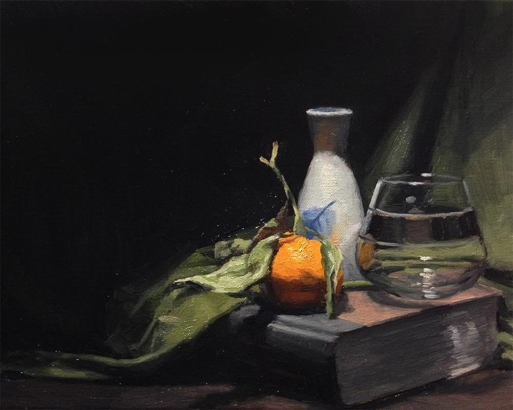 """A Good Foundation"" original fine art by Chris Beaven"
