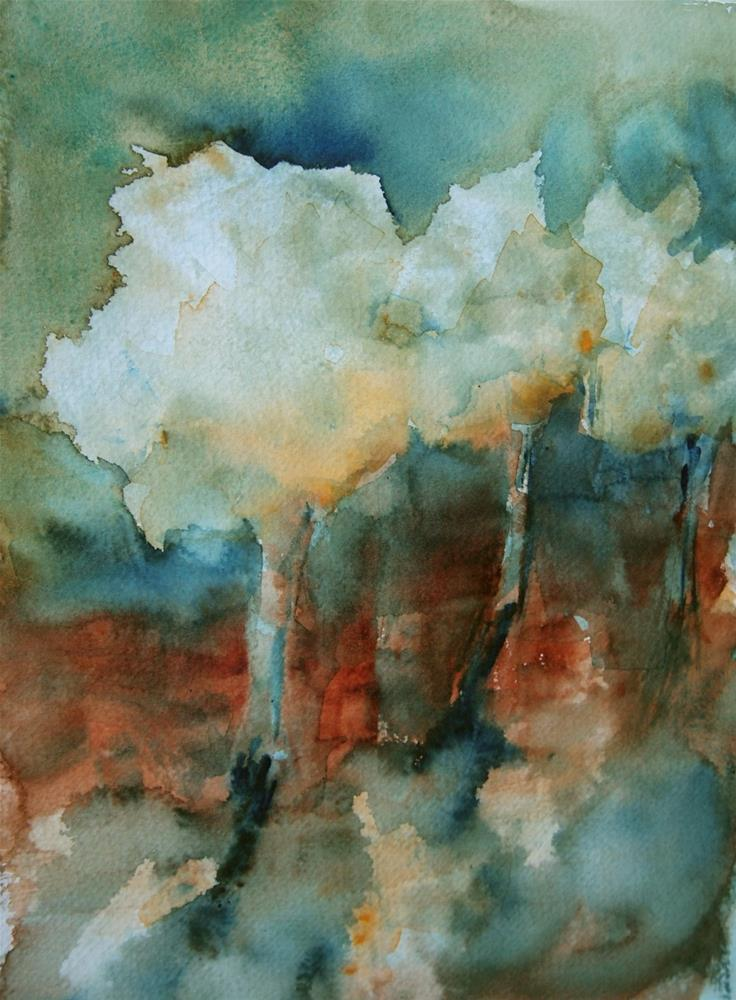 """""""Fall Morning on the Fairway"""" original fine art by Amy Bryce"""