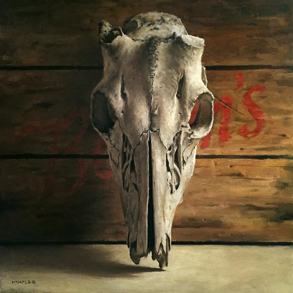 """Head On"" original fine art by Michael Naples"