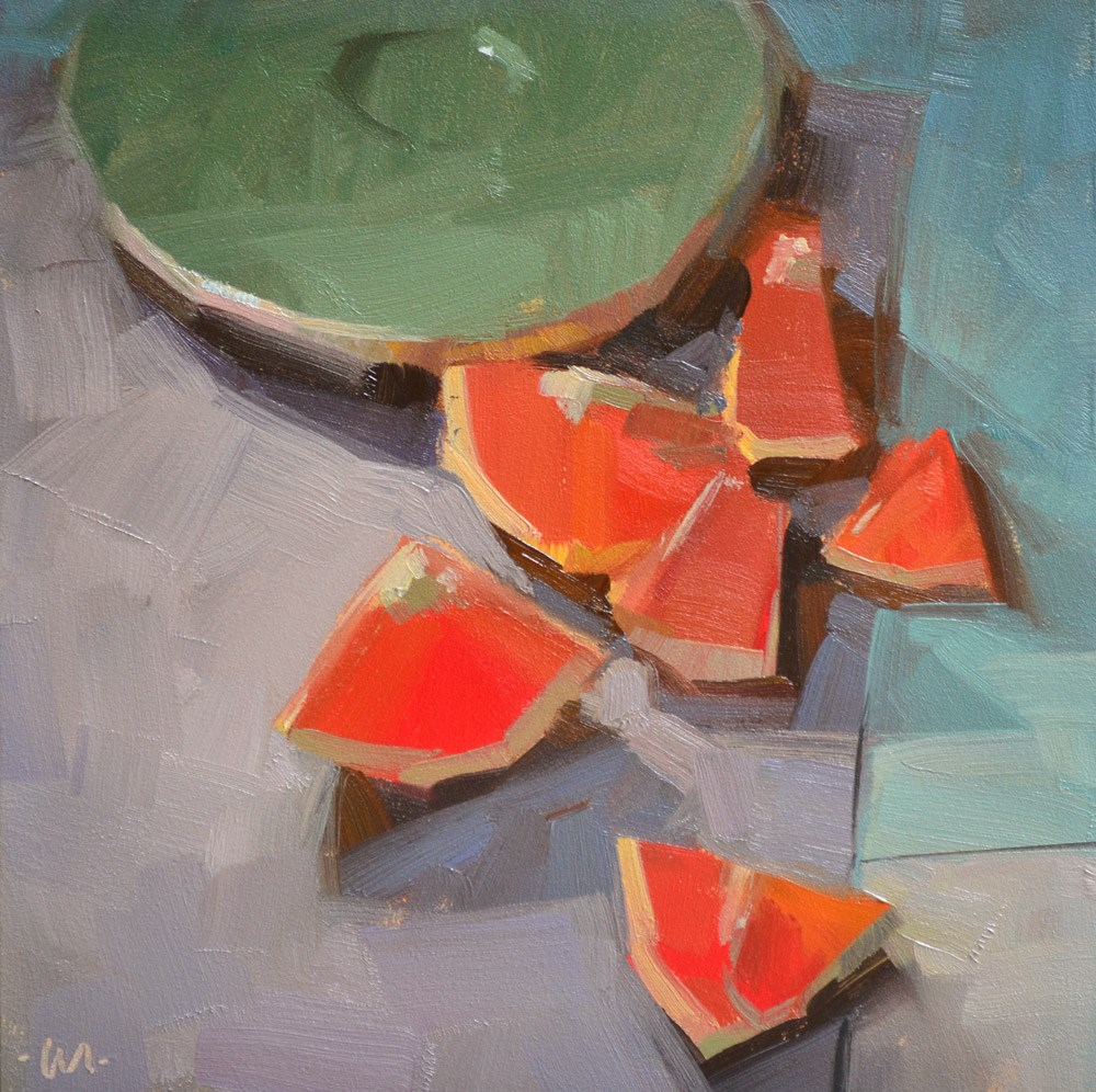 """Juicy Bits"" original fine art by Carol Marine"