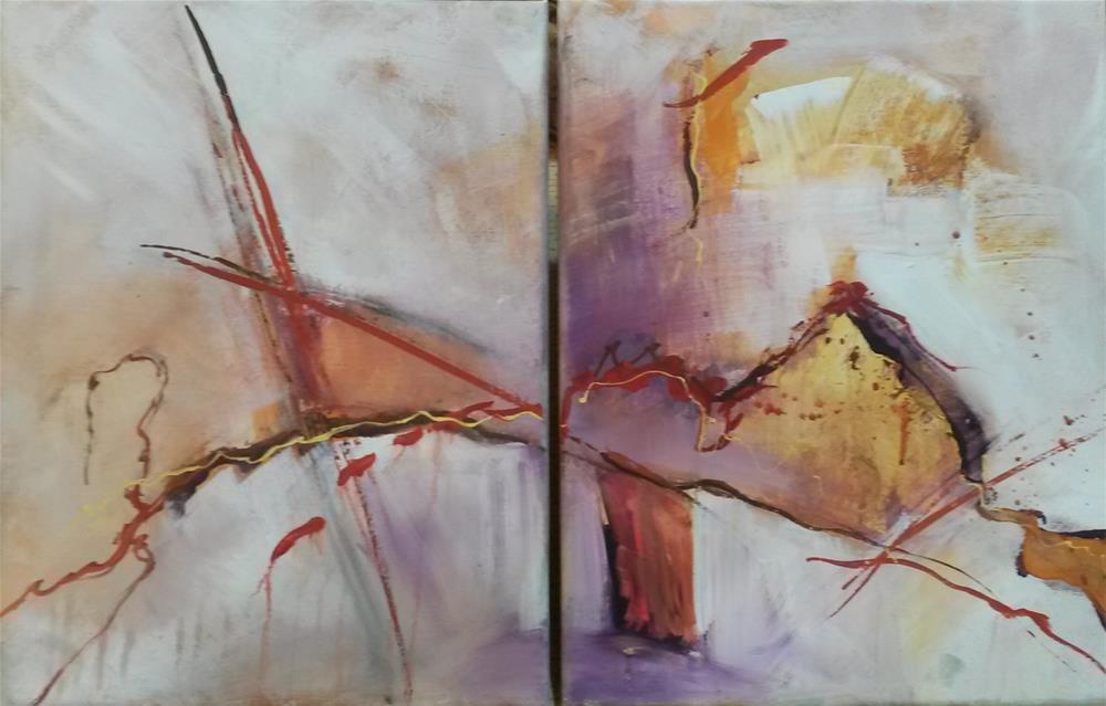"""""""Molten"""" original fine art by Terri Einer"""