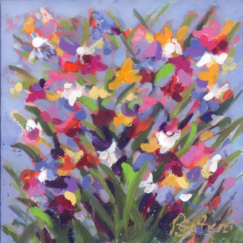 """Winsome Wildflowers"" original fine art by Pamela Gatens"