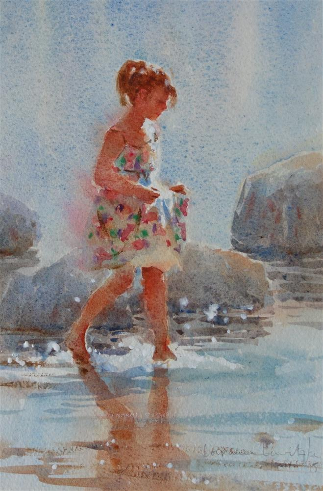 """Tippytoes"" original fine art by Lorraine Lewitzka"