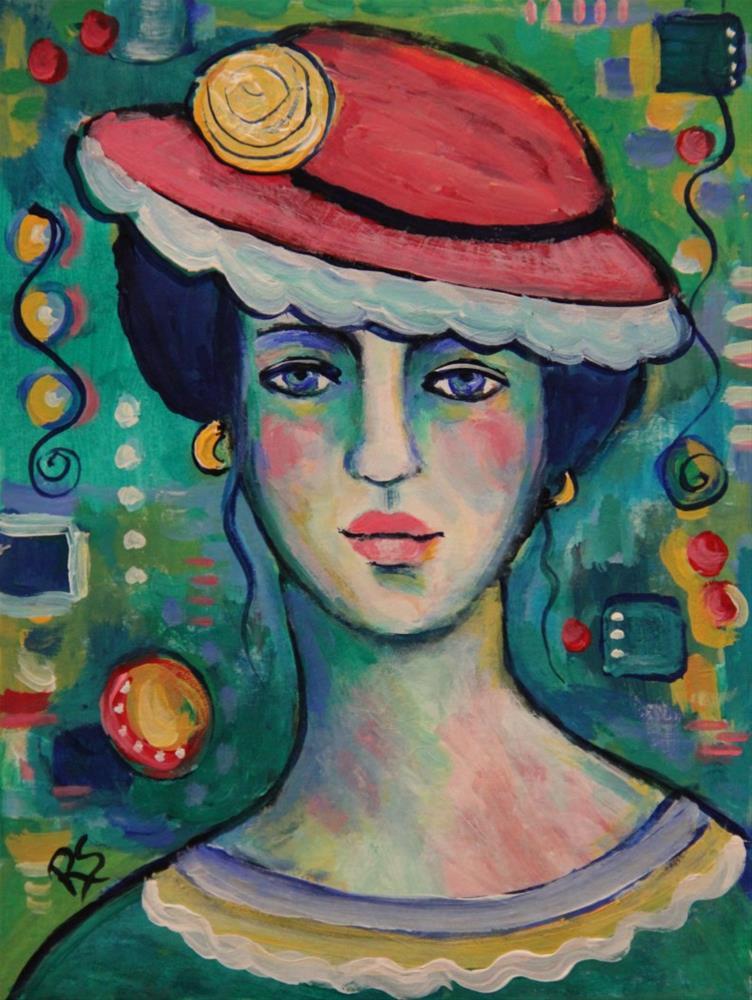 """""""J'aime les Couleurs"""" original fine art by Roberta Schmidt"""