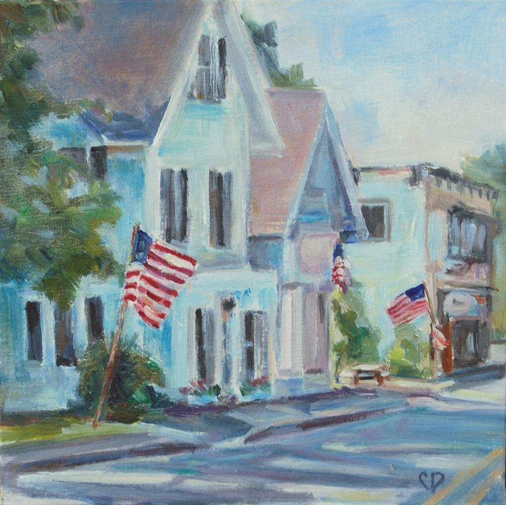 """Main Street USA"" original fine art by Carol DeMumbrum"