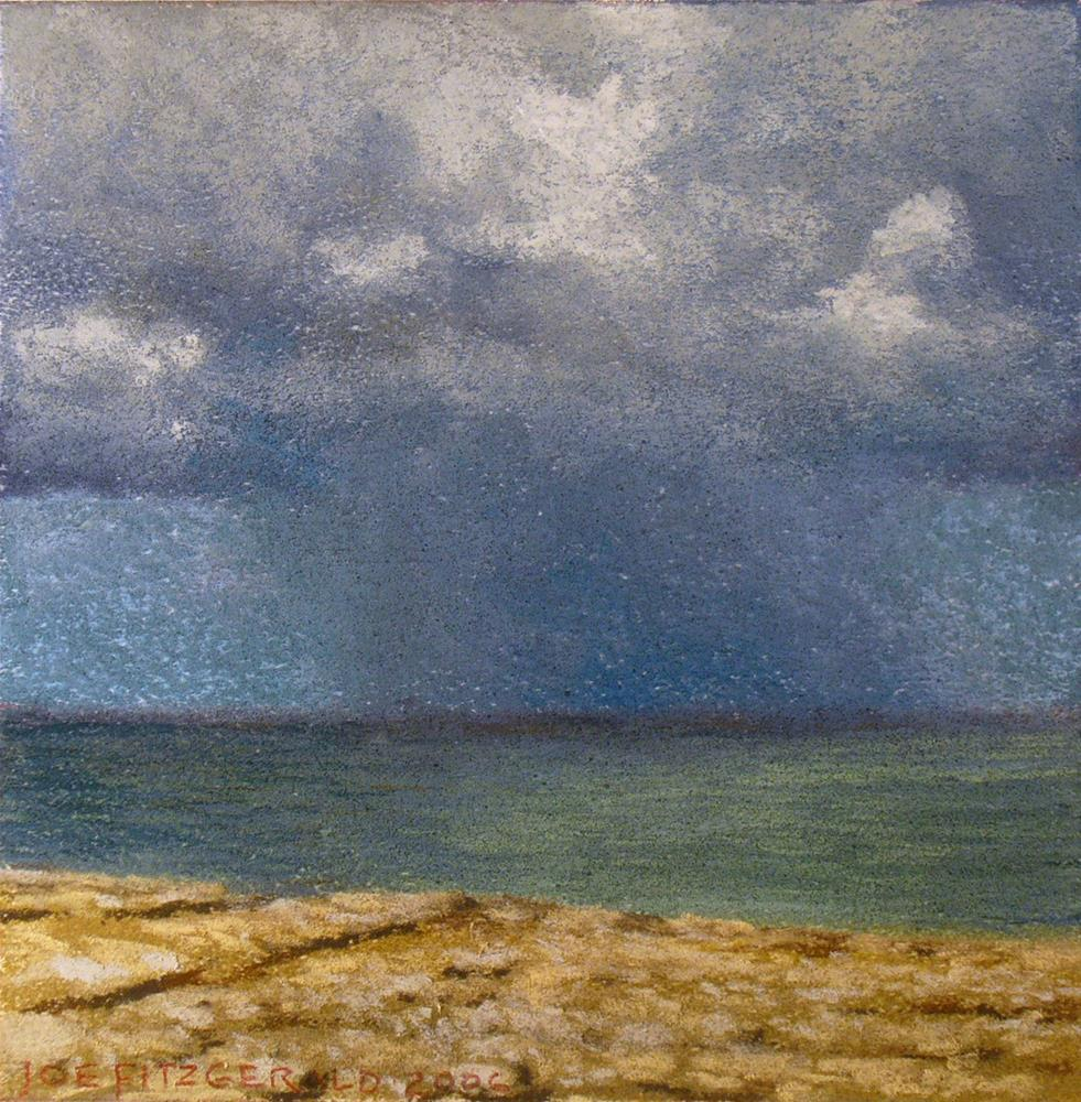 """Galway Bay Cloudscape"" original fine art by Joe Fitzgerald"