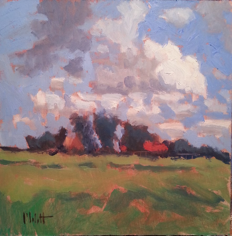 """Rural Impressions Alla Prima Oil Painting"" original fine art by Heidi Malott"