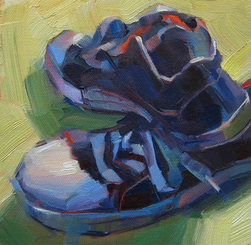 """Converse Low Tops"" original fine art by Patti Mollica"