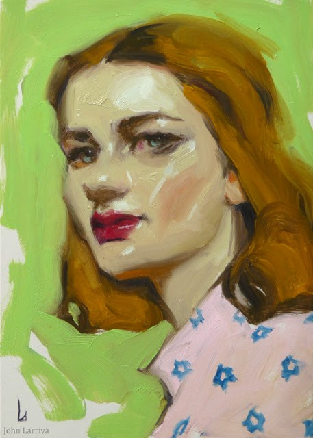 """Sprout"" original fine art by John Larriva"