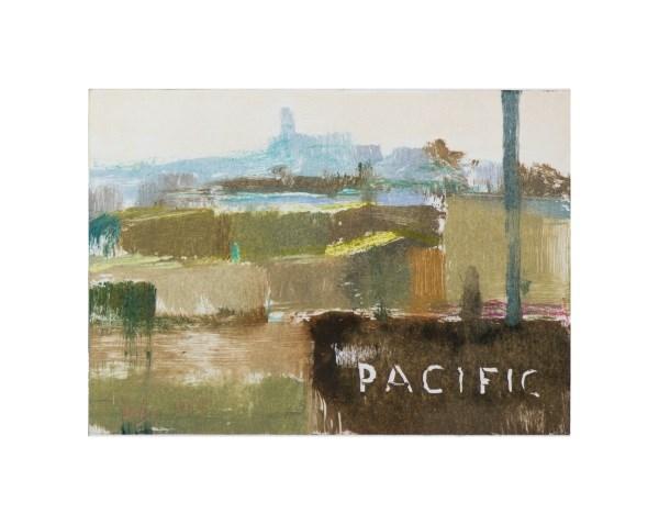 """Pacific"" original fine art by Randall Cogburn"