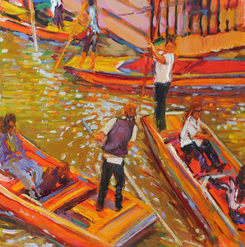 """Navigation"" original fine art by Ken Devine"