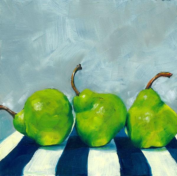 """Three's a Crowd"" original fine art by Brenda Ferguson"