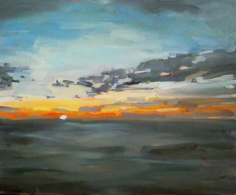 """""""Morning Calm"""" original fine art by Doug Carter"""