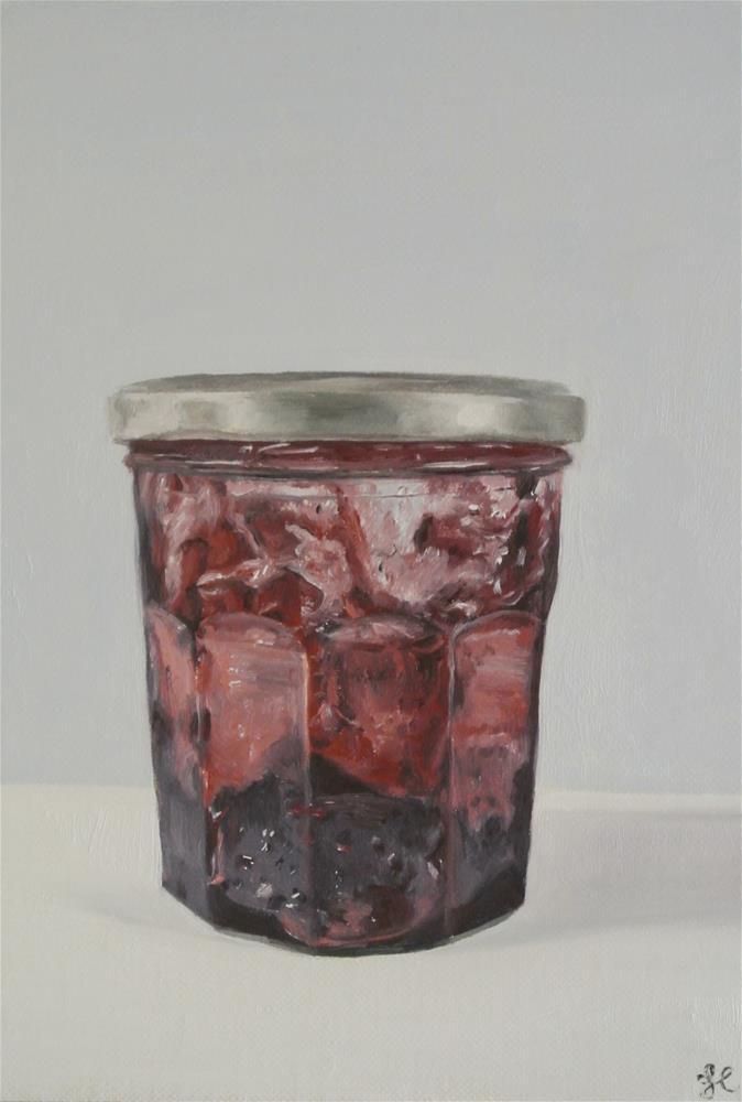 """Jam Jar"" original fine art by James Coates"