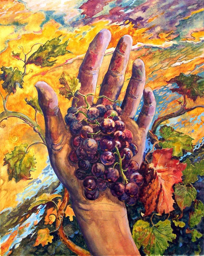 """Emergent Growth"" original fine art by Laura Gable"