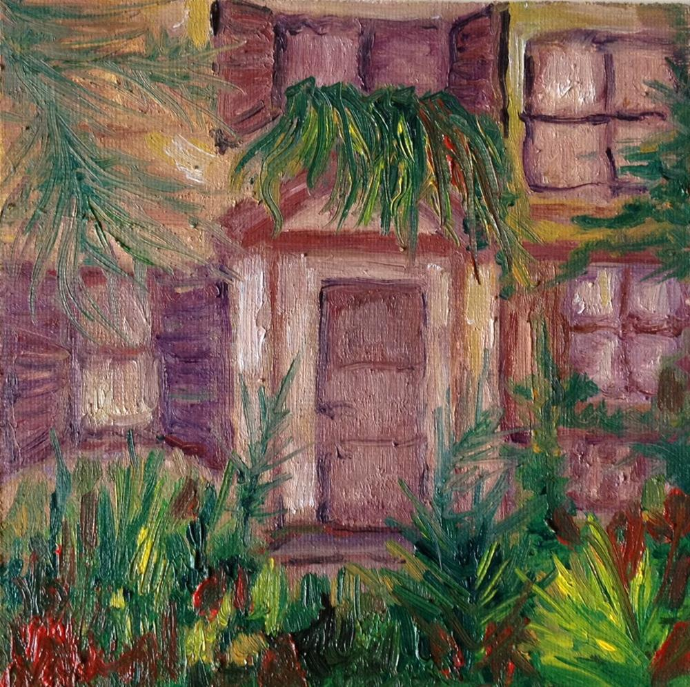"""The garden"" original fine art by Monica Pinotti"
