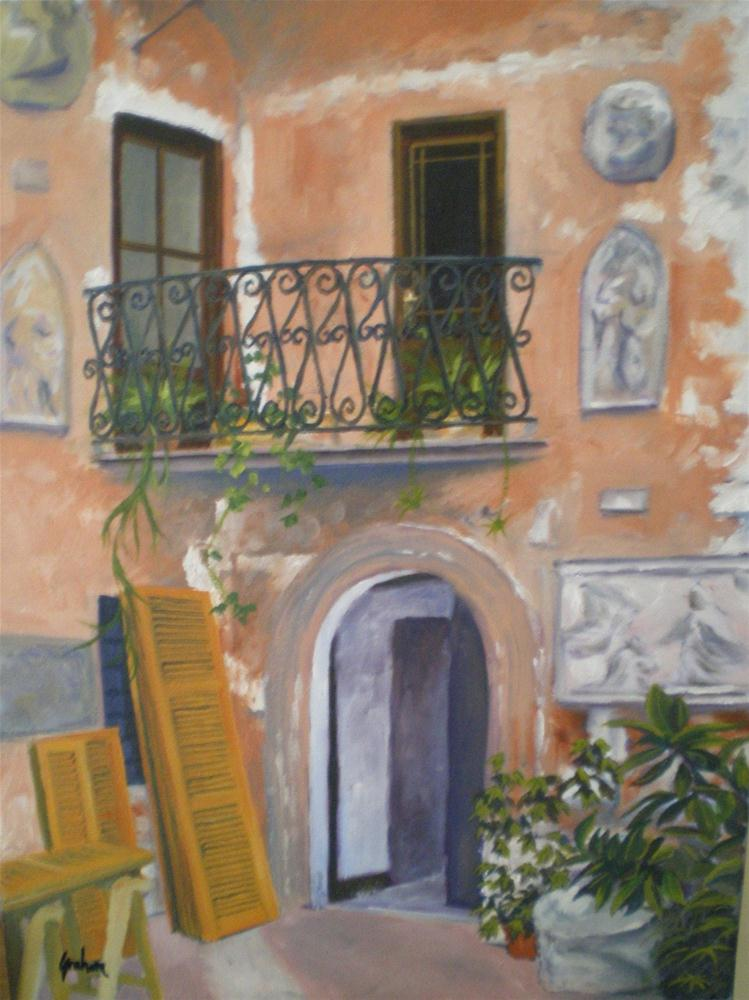 """Italian Make-Over"" original fine art by Graham Townsend"