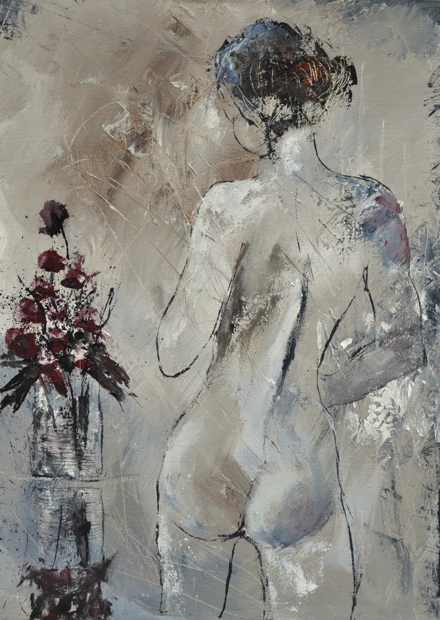 """nude 5741"" original fine art by Pol Ledent"