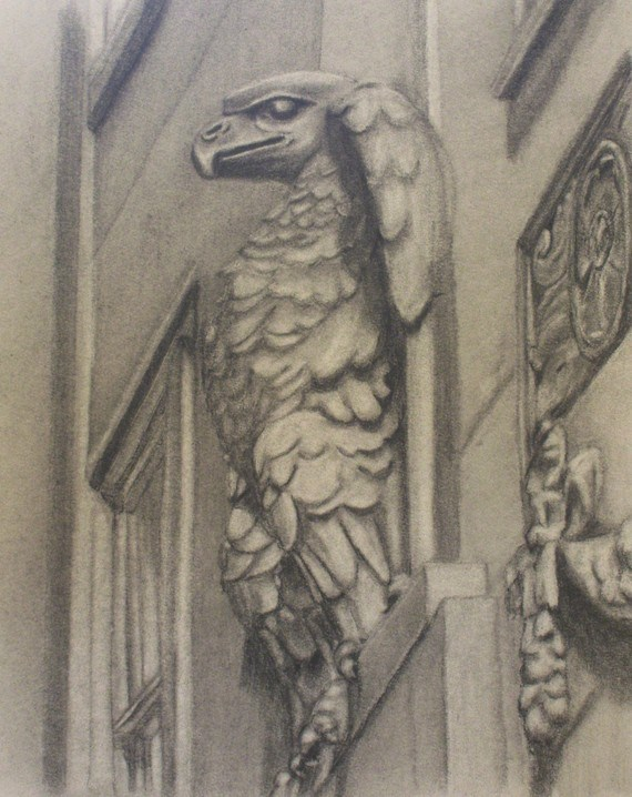 """The Guardian"" original fine art by Amy VanGaasbeck"