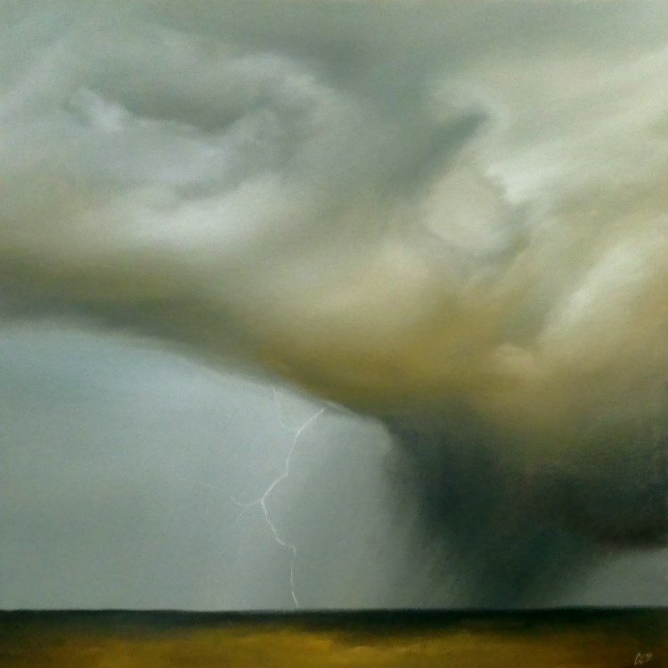 """Sweeping Across the Prairies"" original fine art by ~ces~ Christine E. S. Code"