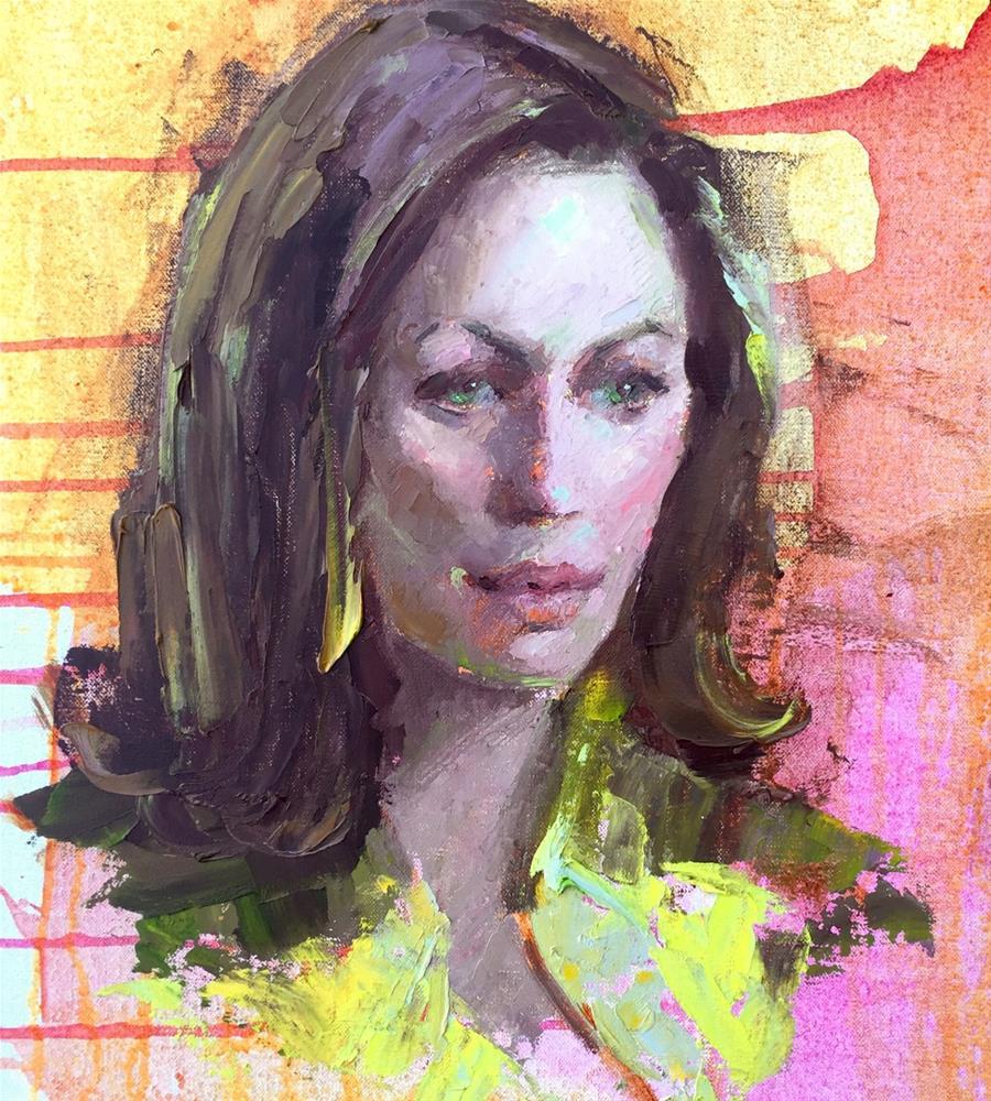 """Steadfast"" original fine art by Johanna Spinks"