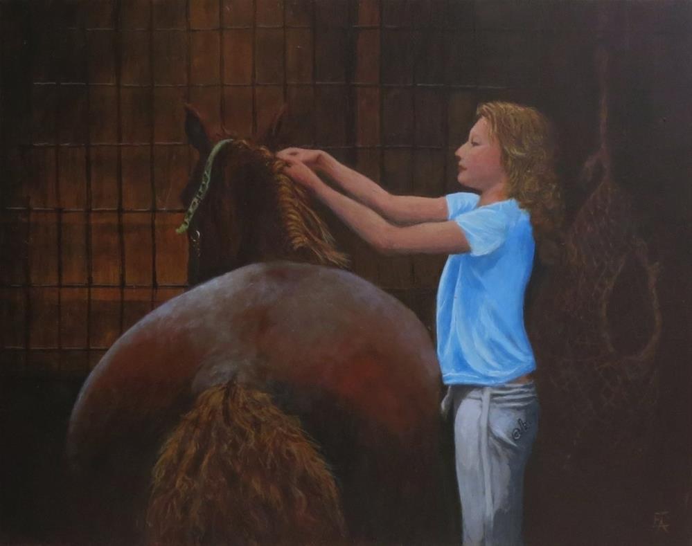 """The Redheads"" original fine art by Elizabeth Elgin"