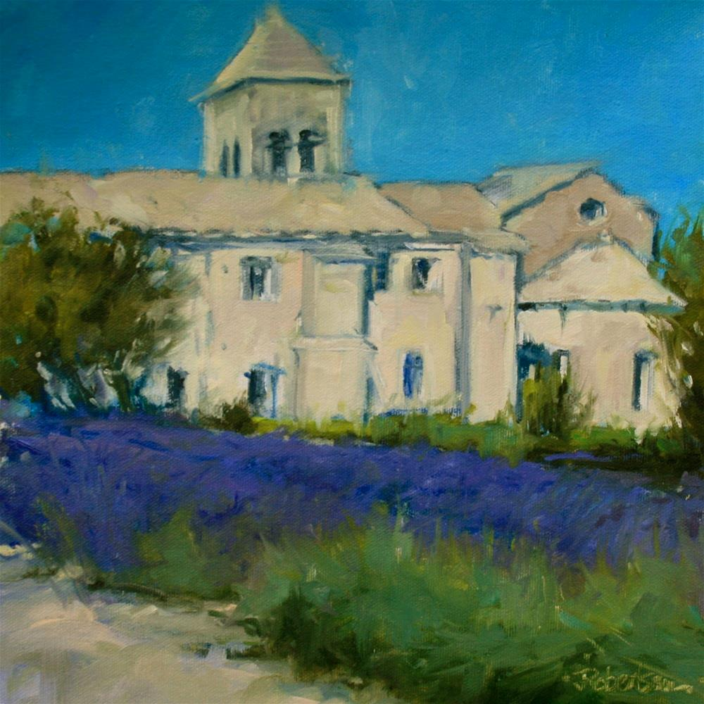 """Provence - Saint-Paul de Mausole"" original fine art by Jane Robertson"