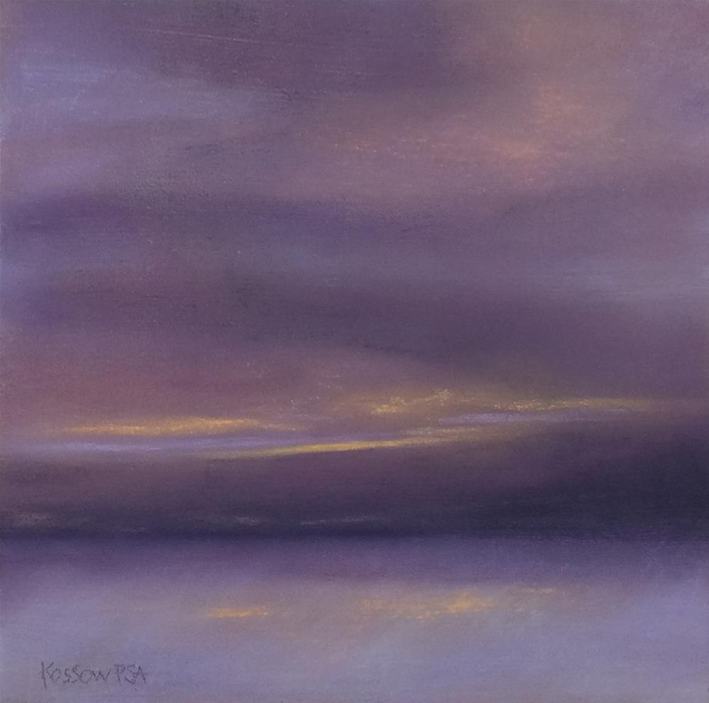"""Clearing"" original fine art by Cristine Kossow"