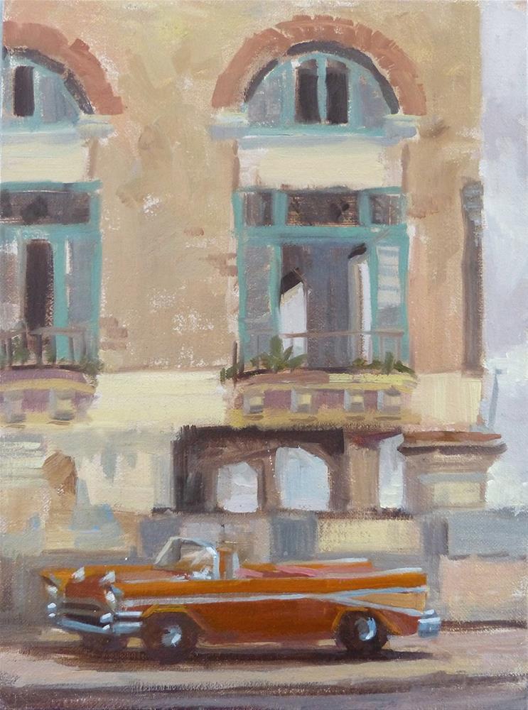 """""""Cuba - Built to Last"""" original fine art by Anette Power"""