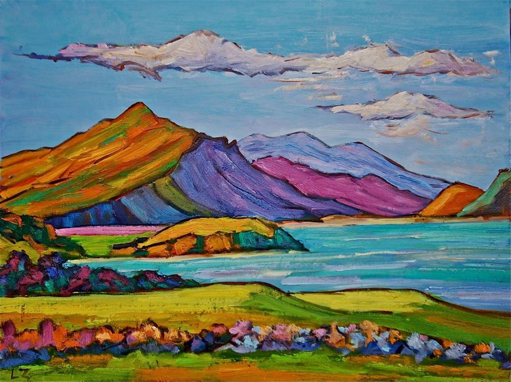 """Loch View Isle of Skye"" original fine art by Liz Zornes"
