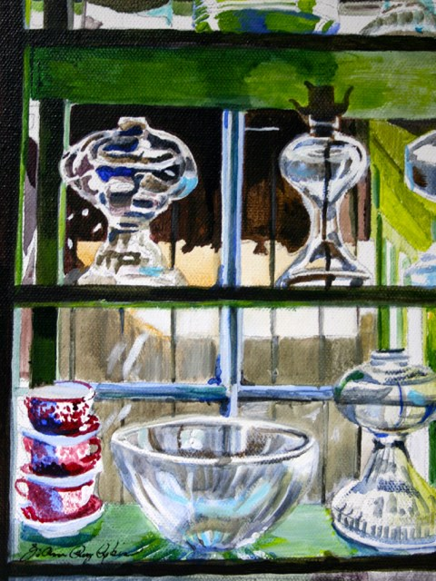 """Oil Lamps"" original fine art by JoAnne Perez Robinson"