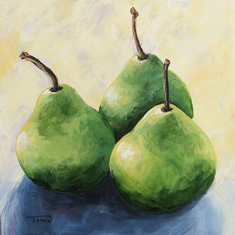 """Triplets"" original fine art by Torrie Smiley"