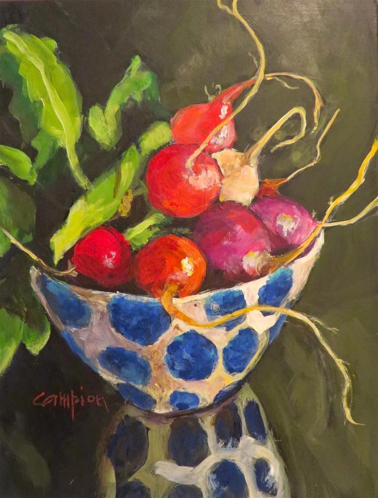 """542 Polka Dance"" original fine art by Diane Campion"