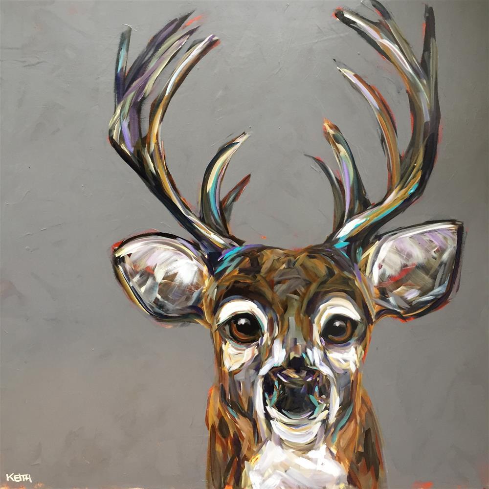 """Howard"" original fine art by Kandice Keith"
