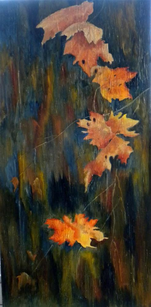 """Falling Leaves"" original fine art by Marti Idlet"