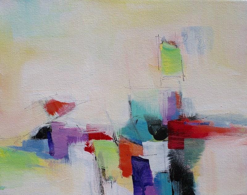 """No Limit 2"" original fine art by Karen Hale"