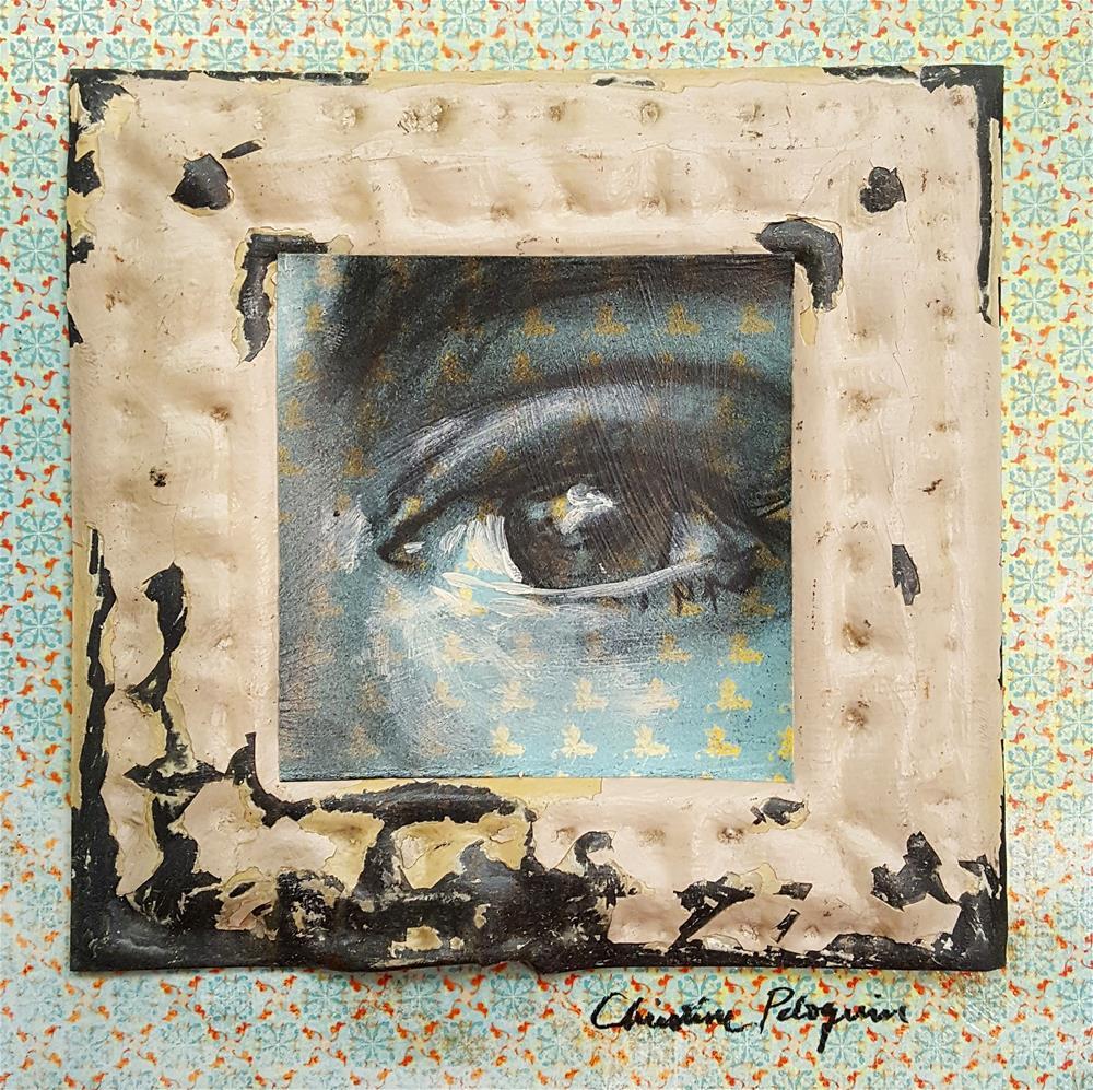 """""""Insight"""" original fine art by Christine Peloquin"""