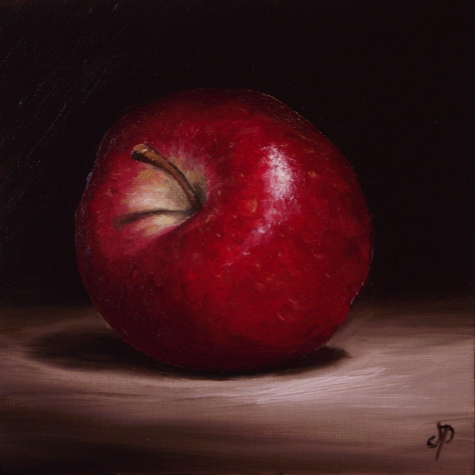 """Red Delicious Apple"" original fine art by Jane Palmer"