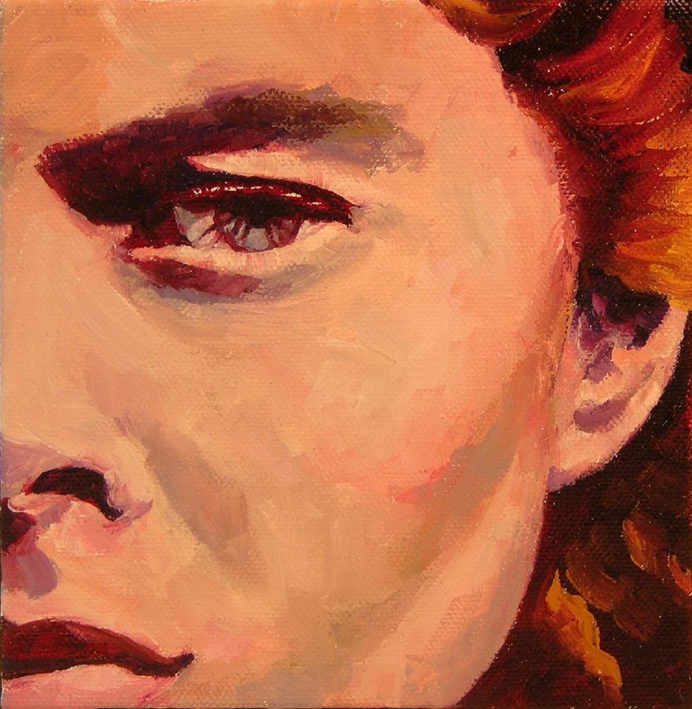 """Ingrid"" original fine art by Mary McInnis"