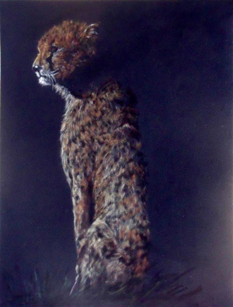 """Waiting For The Dark"" original fine art by Nelvia  McGrath"