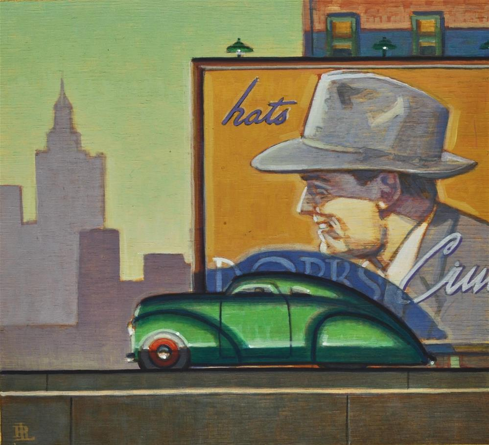 """Fedora"" original fine art by Robert LaDuke"