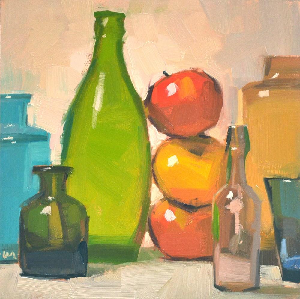 """Apple Support"" original fine art by Carol Marine"
