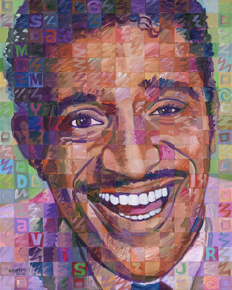 """Sammy Davis Jr. #2"" original fine art by Randal Huiskens"
