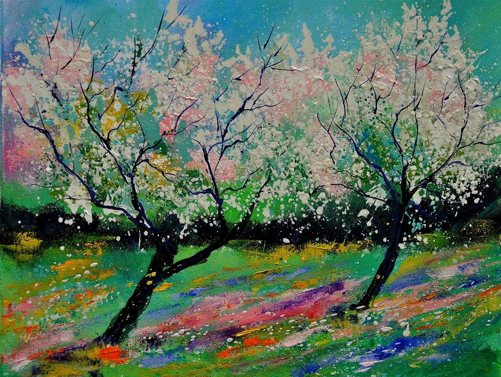 """spring452121"" original fine art by Pol Ledent"