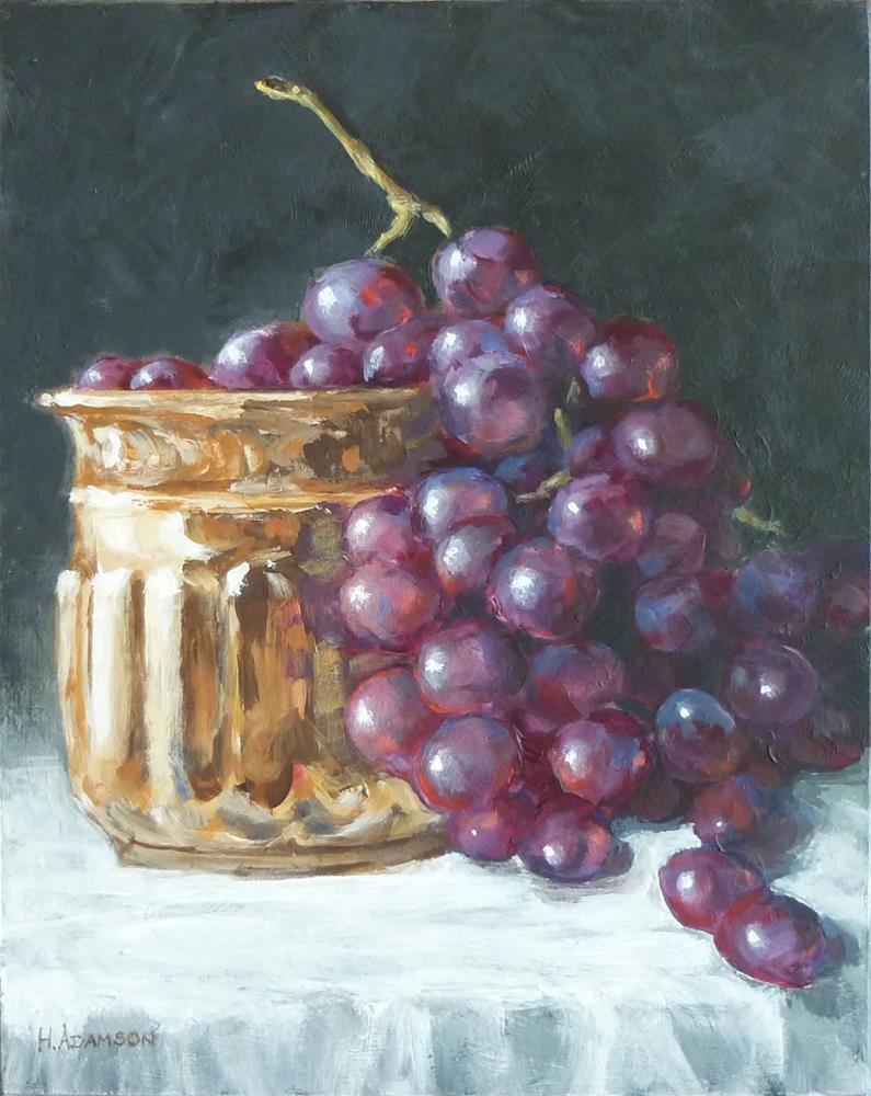 """Abundance"" original fine art by Helene Adamson"