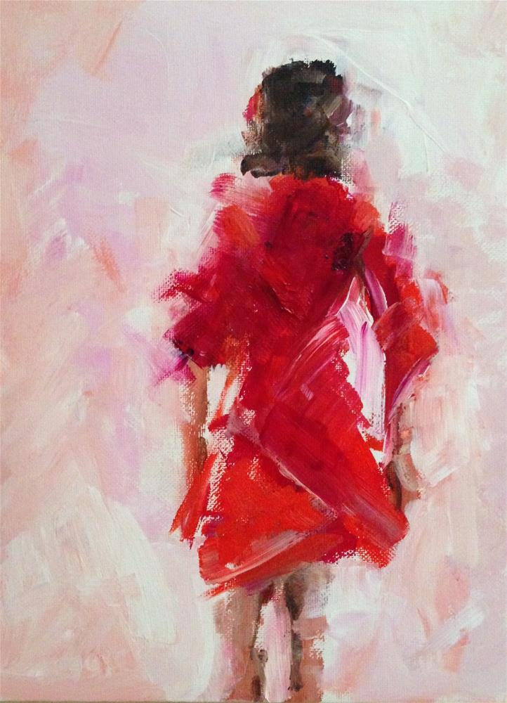 """Don't Just Walk Away"" original fine art by Molly Wright"