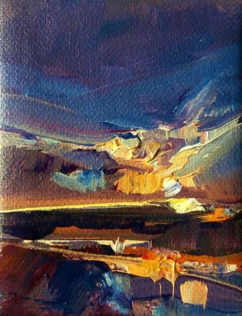 """Sun Shore"" original fine art by Anne Wood"