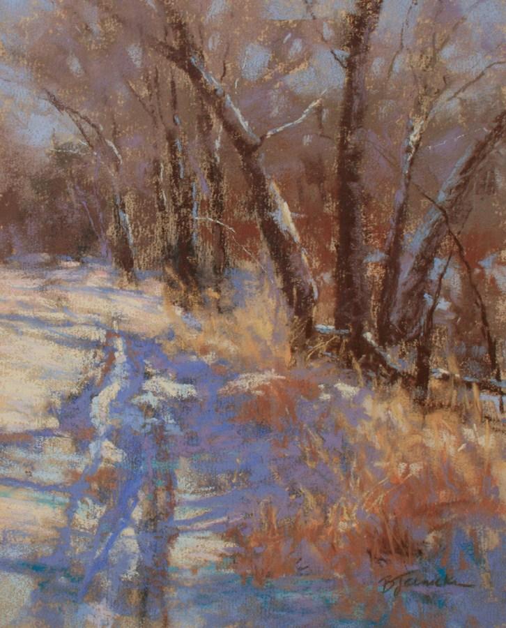 """Offroad Tracks"" original fine art by Barbara Jaenicke"