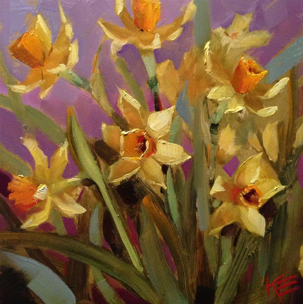 """Springtime Memories"" original fine art by Krista Eaton"